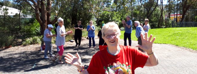 Ferntree Gully Laughter Club Celebrates