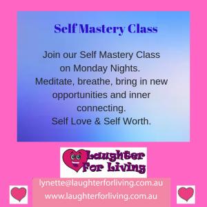 Self mastery, meditation class