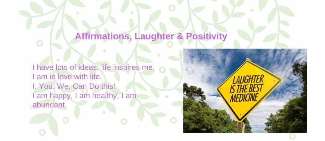 Laughter Affirmations Mindful